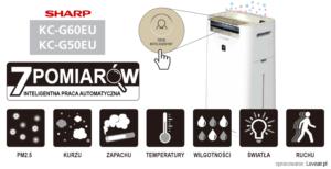 sharp kc g50euw 10 recenzja - review