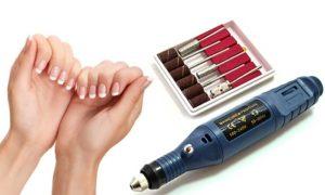 Jak używać frezarki do paznokci