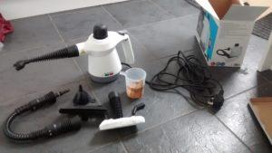 Myjka parowa Lidl –Silvercrest–Youtube– Instrukcja–test